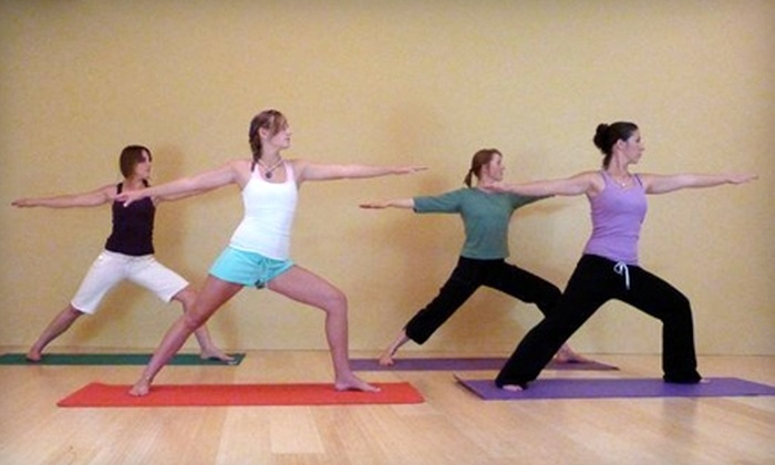The Studio - Litch: $49 for One Month of Unlimited Yoga and One 60-Minute Massage at The Studio ($99 Value)