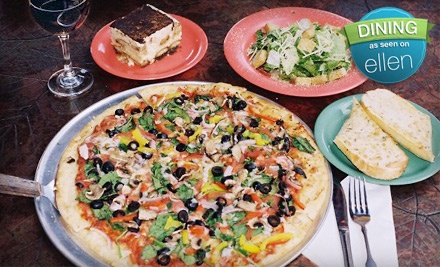 $10 Groupon for Lunch - Palio's Pizza Cafe - Denton in Grapevine
