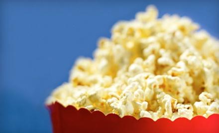 2 Movie Tickets and 2 Medium Popcorns - Fox Cinema Cafe in Menasha