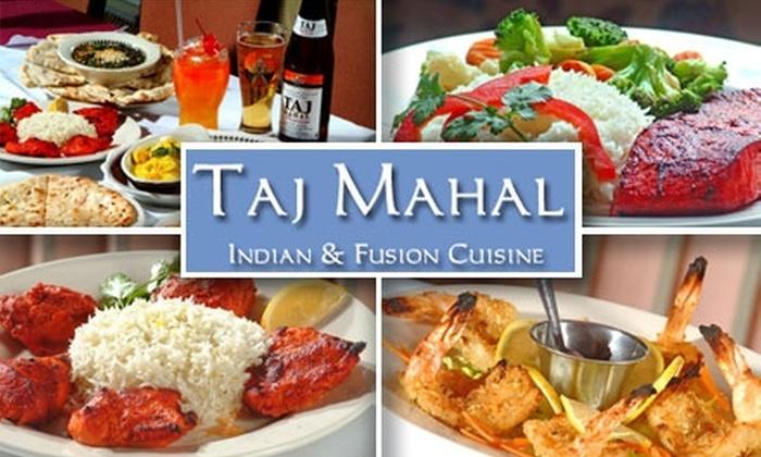 Taj Mahal - Dupont Circle: $10 for $25 Worth of Classic Indian Food at Taj Mahal Indian & Fusion Cuisine