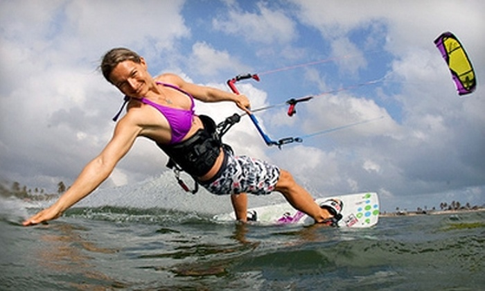 Cloud Nine Kiteboarding - Palm Beach: $99 for Three-Hour Introductory Kiteboarding Lesson from Cloud Nine Kiteboarding ($250 Value)