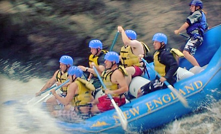 Whitewater-Rafting Adventure for 2 People, including Lunch - New England Outdoor Center in Millinocket