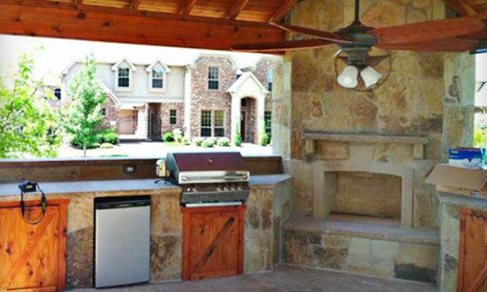 Kenneth Graham Construction - Eldorado: Full Outdoor Custom Stone Grill Area, With or Without Grill from Kenneth Graham Construction (Up to 58% Off)