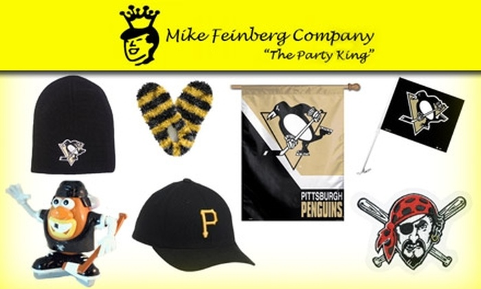 Mike Feinberg Company - Strip District: $15 for $30 Worth of Sports Gear and Party Supplies at Mike Feinberg Company