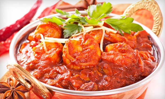 Bombay Grill - New City: Indian Dinner for Two or Four at Bombay Grill in New City (Up to 59% Off)