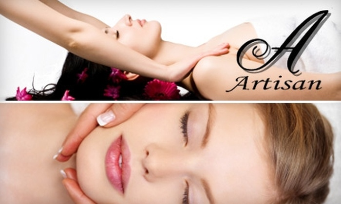 Artisan MedSpa, Laser & Wellness Center - City View: $37 for Your Choice of a Swedish Massage, Facial, or Micro-Peel at Artisan MedSpa, Laser & Wellness Center ($75 Value)