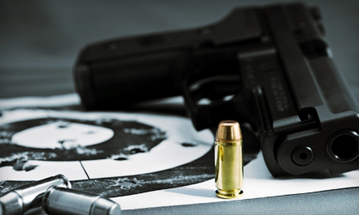 Firearm Exchange - Livonia: $28 for a Shooting Package for Two with Range Time, Gun Rental, and Ammo at Firearm Exchange in Livonia ($56 Value)