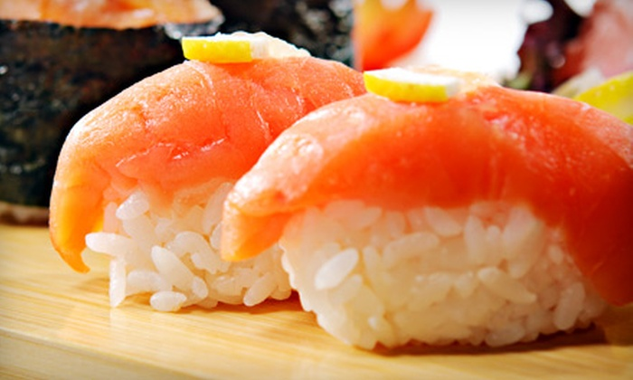 Toro Sushi Bar - Upper Montclair: $25 for $50 Worth of Sushi and Japanese Cuisine at Toro Sushi Bar in Montclair. Two Options Available.