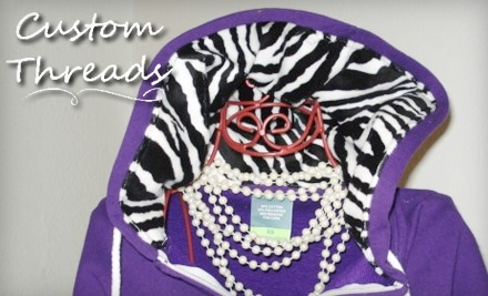 $40 Groupon to Custom Threads Embroidery and Personalized Gifts - Custom Threads Embroidery and Personalized Gifts in Canyon