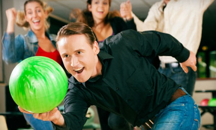 Ballston Spa's Tippy Bowl - Ballston Spa: Bowling or Glow-Bowling Outing for Four with Shoes, Pizza, and Soda at Ballston Spa's Tippy Bowl