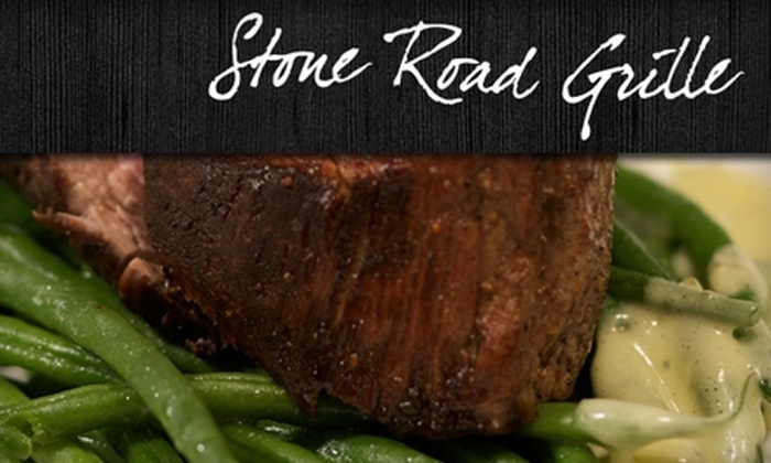 Stone Road Grille - St Catharines-Niagara: $20 for $40 Worth of Seasonal Fare and Drinks at Stone Road Grille in Niagara-on-the-Lake