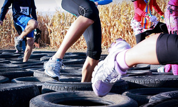 Farm Man Challenge - Kuna: Farm Man Challenge on Saturday, October 27, at Linder Farms in Meridian (Up to 51% Off). Two Options Available.