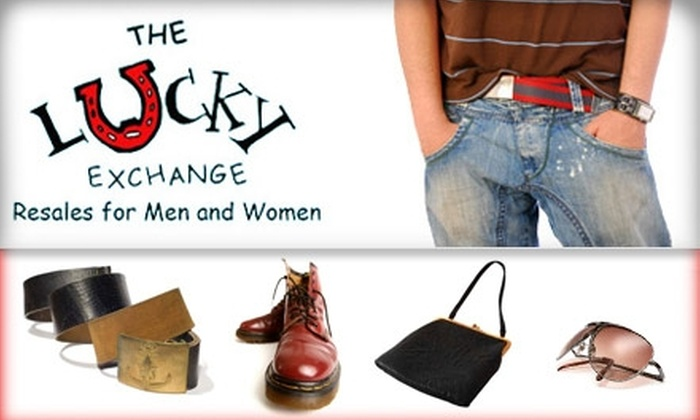 The Lucky Exchange - Atlanta: $20 for $50 Worth of Apparel and Accessories at The Lucky Exchange