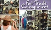 Boutique Refaire - Columbia Square: $10 for $25 Worth of Designer Resale Clothing and a Free Pair of Earrings at Fair Trade Consignment in Peoria