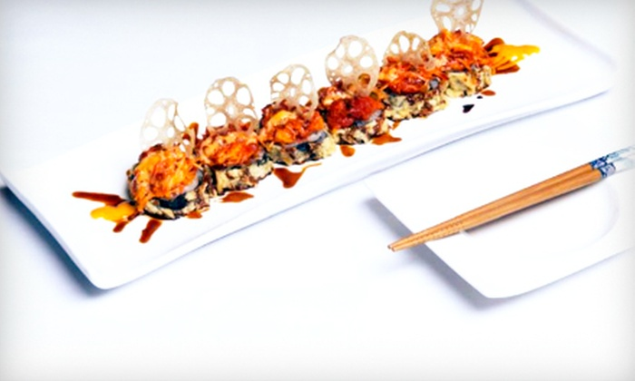 Shiki Sushi - Ballston Common Mall: $32 for a Prix Fixe Sushi Dinner for Two at Shiki Sushi in Arlington (Up to $65 Value)