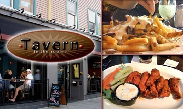 Tavern in the Square - Porter Square: $20 for $40 Worth of Creative Pub Grub and Drinks at Tavern in the Square