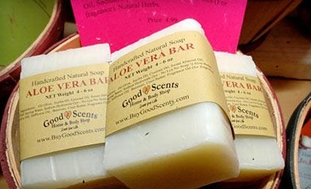 $20 Groupon to Good Scents Home & Body Shop - Good Scents Home & Body Shop in Lexington