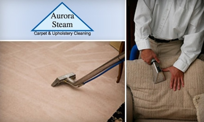 Aurora Steam - Windsor: $40 for $80 Toward Carpet, Upholstery, and Tile-Cleaning Services from Aurora Steam