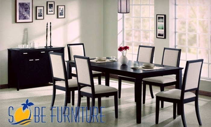 SoBe Furniture - Pembroke Lakes South: $75 for $250 Worth of Furniture at SoBe Furniture in Pembroke Pines