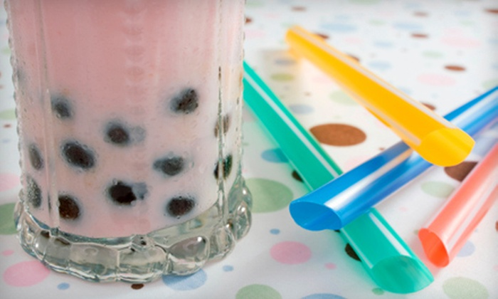 Mango Star - Pleasant Hill: $15 for Five Visits for Café Fare and Bubble Tea at Mango Star in Pleasant Hill ($30 Value)