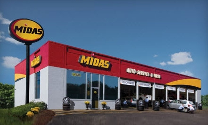 Midas Auto Service - St. Catharines: $25 for $50 Worth of Services or $29 for a Summer Maintenance Package ($66.61 Value) at Midas Auto Service