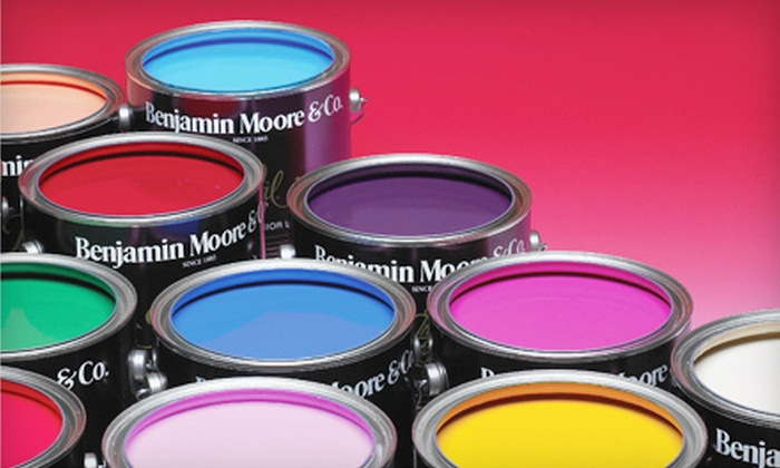 O'Leary Paint - Multiple Locations: $25 for $50 Worth of Benjamin Moore Paints at O'Leary Paint