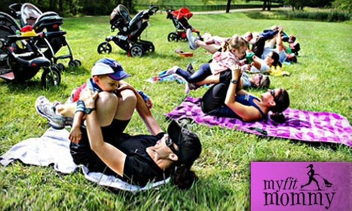 My Fit Mommy - Multiple Locations: $20 for One Month of Unlimited Stroller Fitness and One Mommy and Me Zumba Class ($74 value)