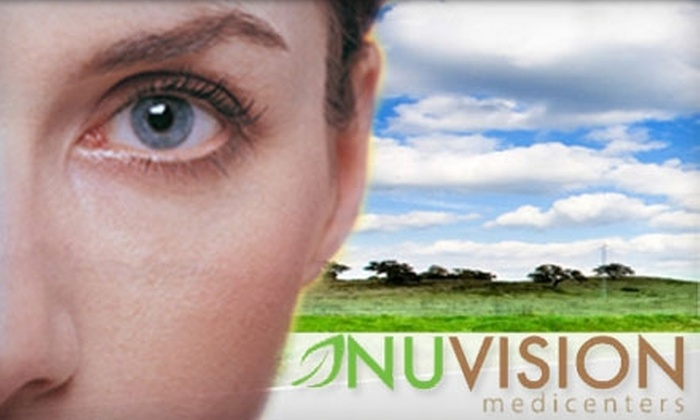 Nuvision Medicenters - Midtown Center: $999 for Lasik Corrective Eye Surgery for One Eye at Nuvision Medicenters ($2,250 Value)