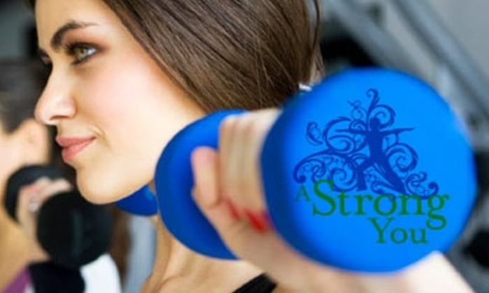 A Strong You - Multiple Locations: $15 for Three Boot-Camp Sessions with A Strong You