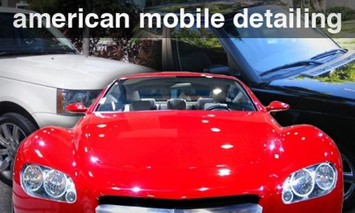 American Mobile Detailing - Denver: $68 for a Stars & Stripes Complete Car Detailing at American Mobile Detailing ($195 Value)