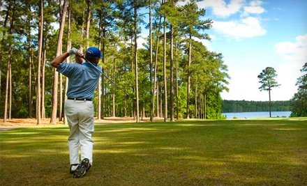 18-Hole Round of Golf, Cart Rental, and 2 Bags of Range Balls for Two Valid Through Feb. 17 - Cheraw State Park Golf Course in Cheraw