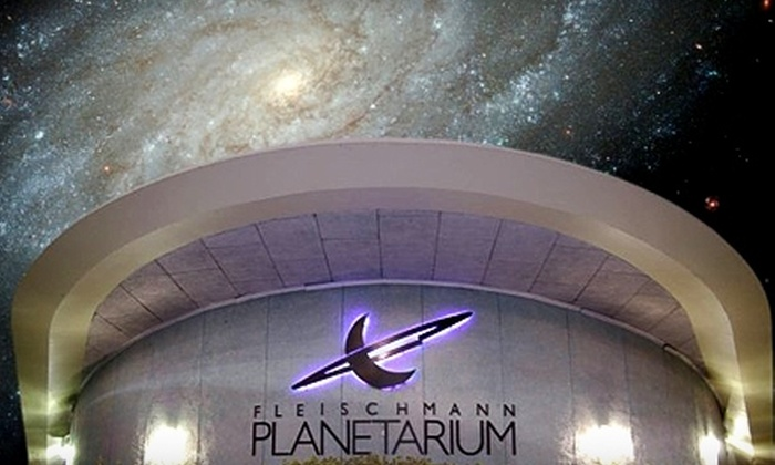 Fleischmann Planetarium and Science Center - University of Nevada: One-Year Membership Packages to Fleischmann Planetarium and Science Center. Three Options Available.