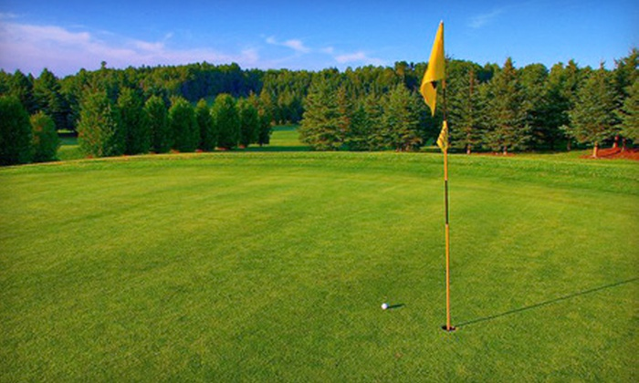 Hammond Golf Course - Hammond: $55 for 18-Hole Golf-Outing Package for Two at Hammond Golf Course ($109.98 Value)
