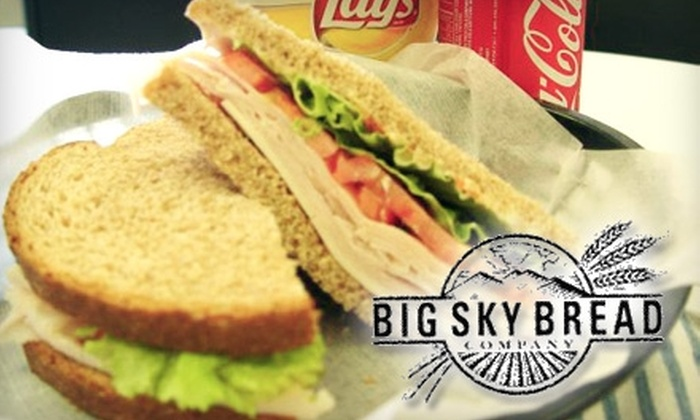 Big Sky Bread Company - Kettering: $4 for $8 Worth of Fresh-Baked Breads, Tasty Pastries, Savory Soups, and More at Big Sky Bread Company