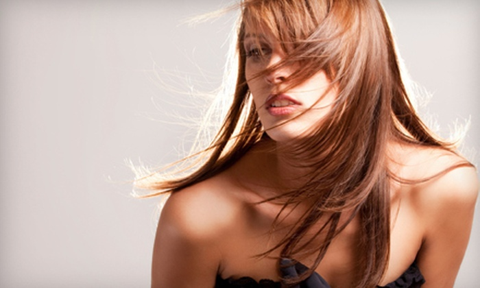 Sunsera Salons - Multiple Locations: Haircut Package, All-Over Colour, or Highlights at Sunsera Salons