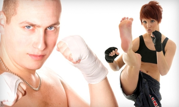 Wai Kru - Boston: $30 for Two One-Hour Private Mixed Martial Arts Lessons ($160 Value) or $70 for One-Month Unlimited Membership ($290 Value) at Wai Kru in Allston