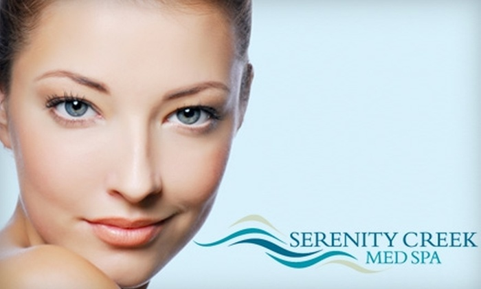 Serenity Creek Med Spa - North Shoal Creek: Up to 56% Off at Serenity Creek Med Spa. Choose From Two Options
