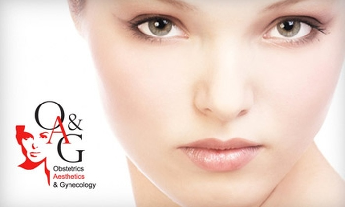 OA&G - Prairie Lane: $149 for Three Laser Hair-Removal Treatments at OA&G (Up to $300 Value)