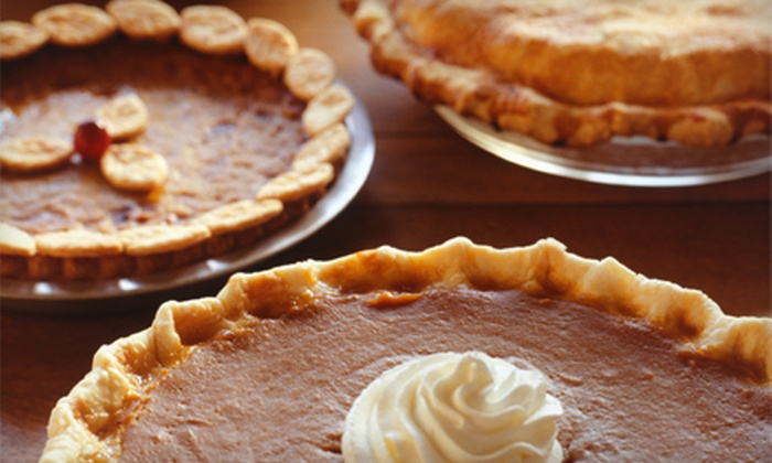 Our Daily Bread Market - Summerville: $27 for Two Gourmet Pumpkin, Apple, or Sweet-Potato Pies at Our Daily Bread Market ($55 Value)