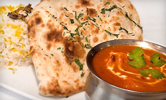 Indian Bread Bar - Bedford Park: $45 for an Indian Meal for Two at Amaya's Bread Bar (Up to $112 Value)