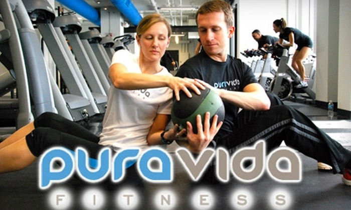 Pura Vida Fitness - First Ward: $18 for Three-Month Membership to Pura Vida Fitness