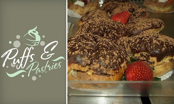 Puffs & Pastries - Hampden: $15 for Assorted Baked Treats at Puffs & Pastries (Up to $54 Value). Choose Between Two Options.