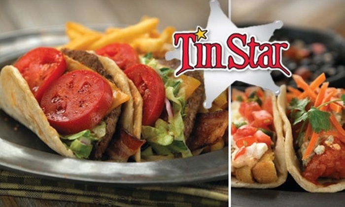 Tin Star - Multiple Locations: $10 for $25 Worth of Southwest-Inspired Fare at Tin Star