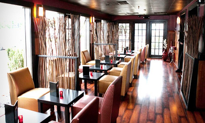 Pure Restaurant & Lounge - Princeton: $35 for $70 Worth of American and Asian Cuisine at Pure Restaurant & Lounge in Princeton