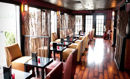 $70 Groupon Worth of American and Asian Cuisine - Pure Restaurant & Lounge in Princeton