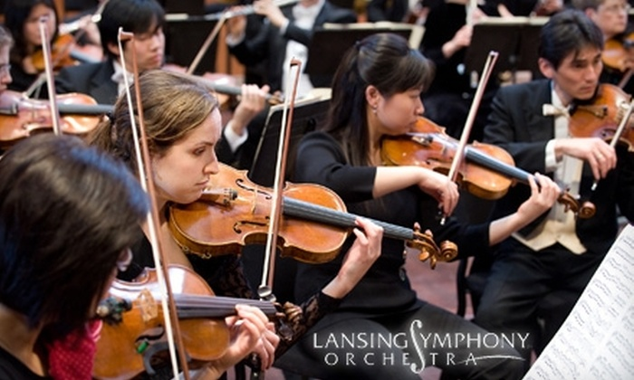 Lansing Symphony Orchestra - Multiple Locations: $19 for One Ticket to the Lansing Symphony Orchestra on January 8 ($38 Value)