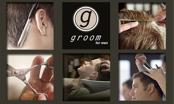 Groom for Men - Milwaukee: $29 for a Luxurious Men's Haircut and Shave at Groom for Men (Up to $86 Value)