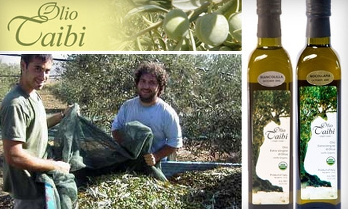 Olio Taibi - Near North Side: $25 for One Bottle of High-End Artisanal Olive Oil and Free Shipping from Olio Taibi ($56 Value)