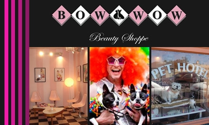Bow Wow Beauty Shoppe - Hillcrest: $20 for $50 Worth of Pet Grooming, Boarding, and More at Bow Wow Beauty Shoppe