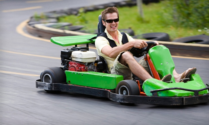 Quik Karts USA - Caldwell: Four or Eight Go-Cart Rides at Quik Karts USA